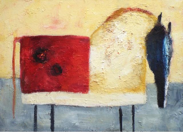 , 'Red Split Horse,' 2016, Carter Burden Gallery