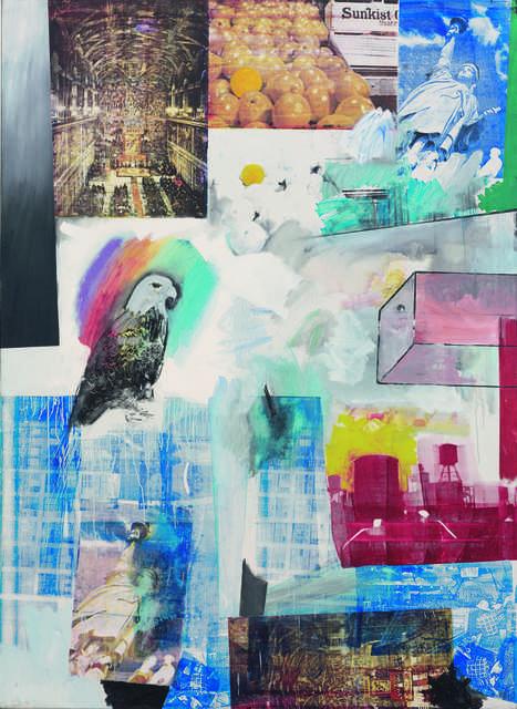 Robert Rauschenberg, 'Windward', 1963, Painting, Oil and silkscreen ink on canvas, Fondation Beyeler