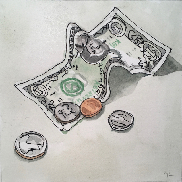 , 'Money,' 2017, Clyde Hogan Fine Art