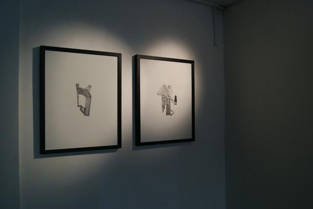 , 'Hybrid Amalgamations,' 2017, Mumbai Art Room