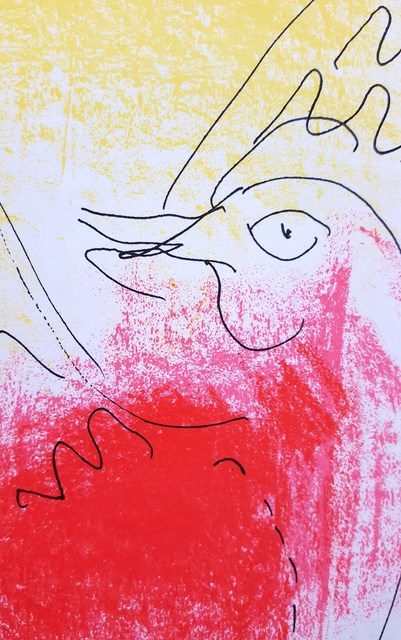 Marc Chagall, 'The Red Rooster', 1957, Print, Lithograph, Graves International Art
