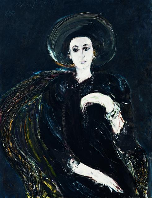 SRĐAN VUKČEVIĆ, 'Portrait with Pearls (Boba)', 1986, Museum of Modern Art Dubrovnik