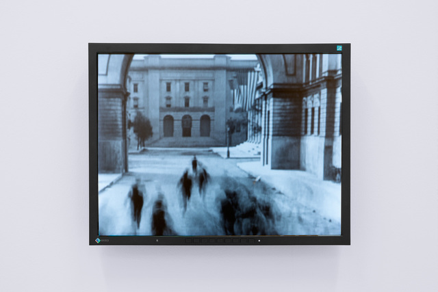 , 'Screen Play (score in form of cinematic-collage for small ensemble),' 2007, Kunstraum Innsbruck
