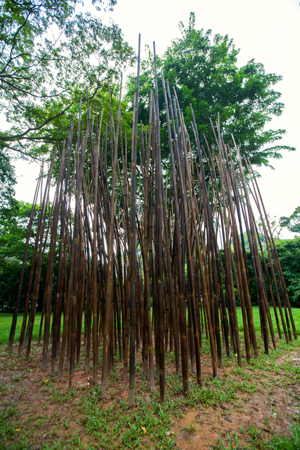 , 'Bamboo-Bonsai-ing, (RGBSP Beta Version). In collaboration with New-Territories, [elf/b^t/c] architects, Camille Lacadee and Stephan Henrich,' 2013, Singapore Art Museum (SAM)