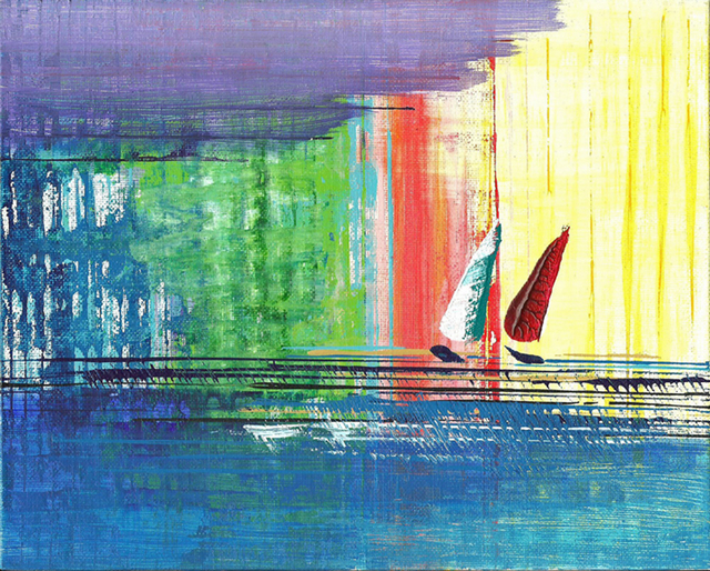 , 'Two Sails,' 2016, Light Space & Time