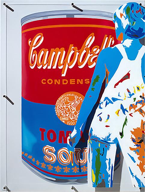 Caroline Dechamby, 'Red Campbell', 2014, Long-Sharp Gallery