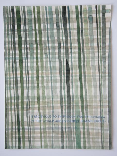 , 'Domestic Textiles Series, Obvious,' 2018, frosch&portmann