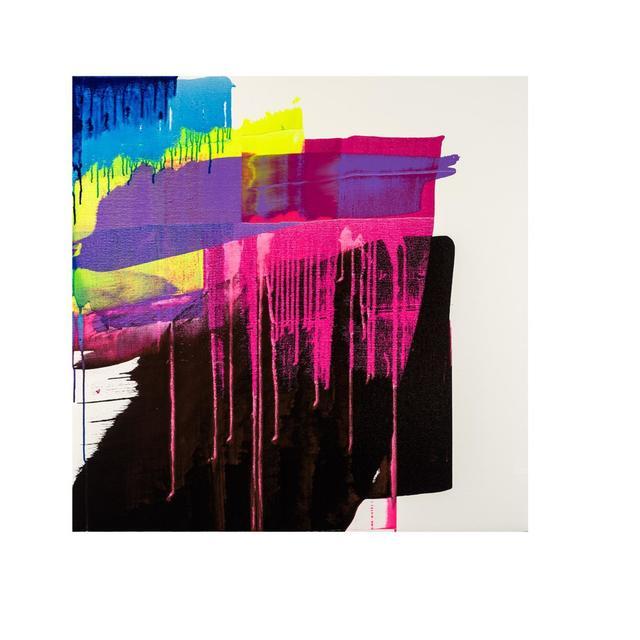 , 'Luminous Portrait/ Raspberry and Black,' , Exhibit by Aberson