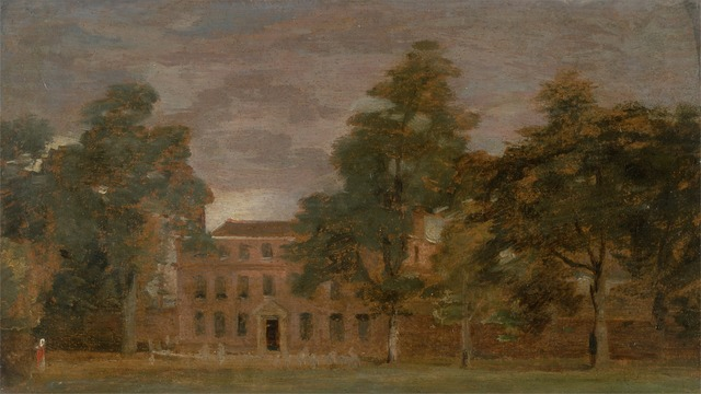 John Constable, 'West Lodge, East Bergholt', between 1813 and 1816, Yale Center for British Art
