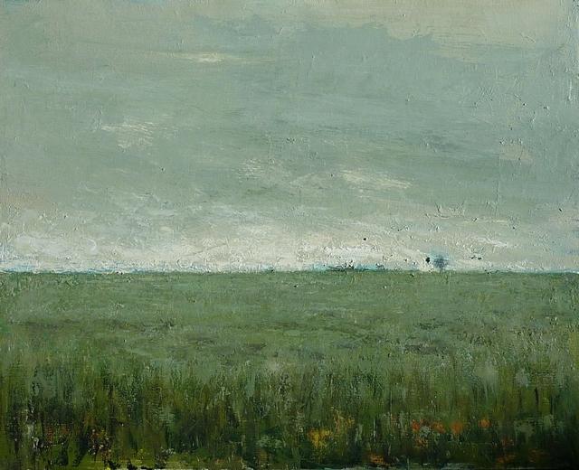 , 'Plaine grise,' 2016, Hugo Galerie