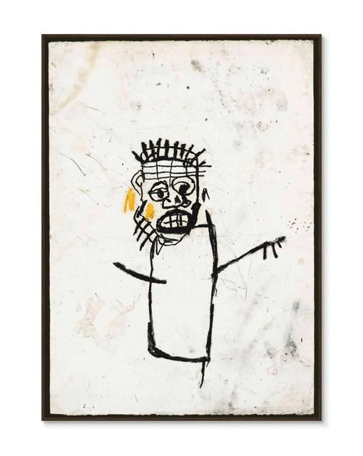 Jean-Michel Basquiat, 'Original Robert Miller Gallery Announcement', 1990, Hidden
