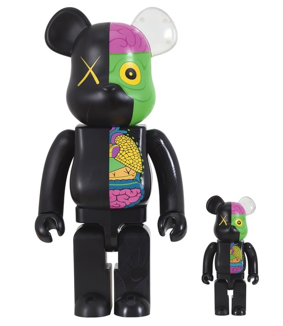 KAWS, 'KAWS X BE@RBRICK Dissected Companion 400% and 100% (two works)', 2010, 5ART GALLERY