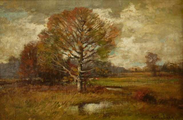 Alexander Van Laer, 'Fall Fields', ca. 1900, Private Collection, NY
