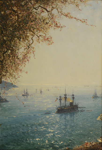 , 'Villefranche, Riviera.,' 1880-1890, Pera Museum