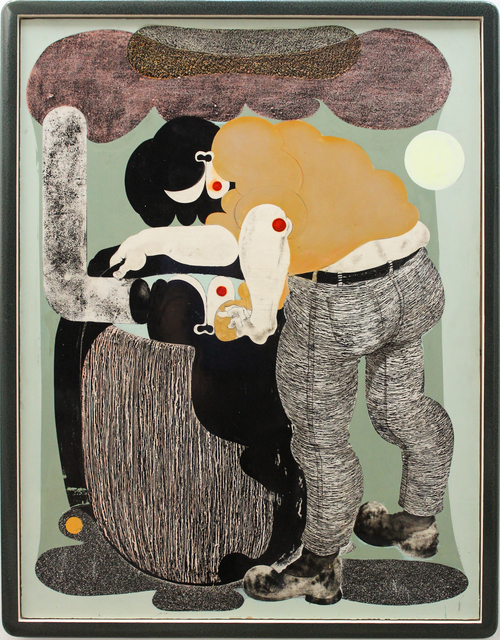 , 'regentonne I (rain barrel I),' 2017, galerie burster