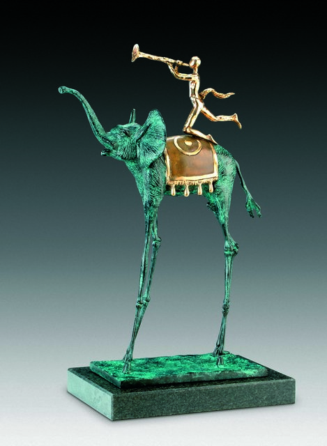 Salvador Dalí, 'Triumphant Elephant', 1975, Sculpture, Bronze lost wax process, Dali Paris