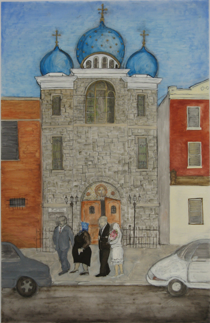 , 'Wedding Party, St. Andrew's Orthodox Church,' 2009, InLiquid