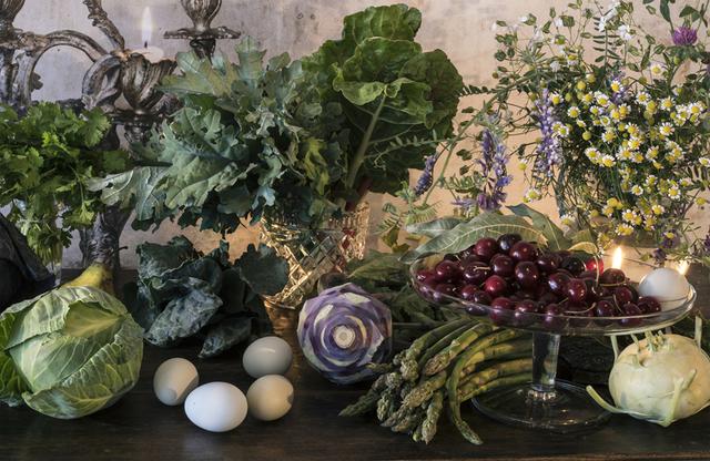 , 'Eggas, Vegetables, Cherries,' 2017, Galerie Jordanow