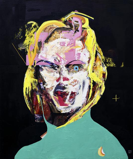 , 'Blonde,' 2018, Mirus Gallery