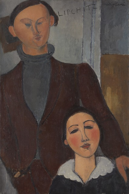 Amedeo Modigliani, 'Jacques and Berthe Lipchitz', 1916, Tate