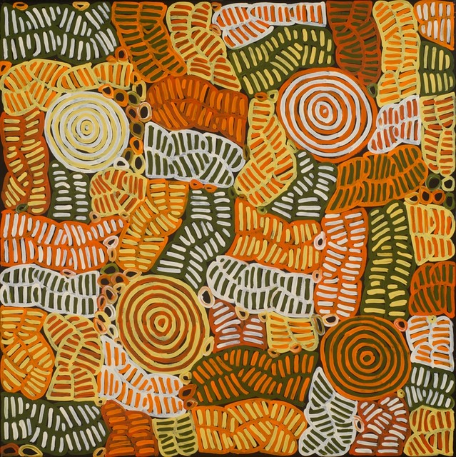 Betty Mbitjana, 'Bush Melon and Awelye', 2012, Wentworth Galleries