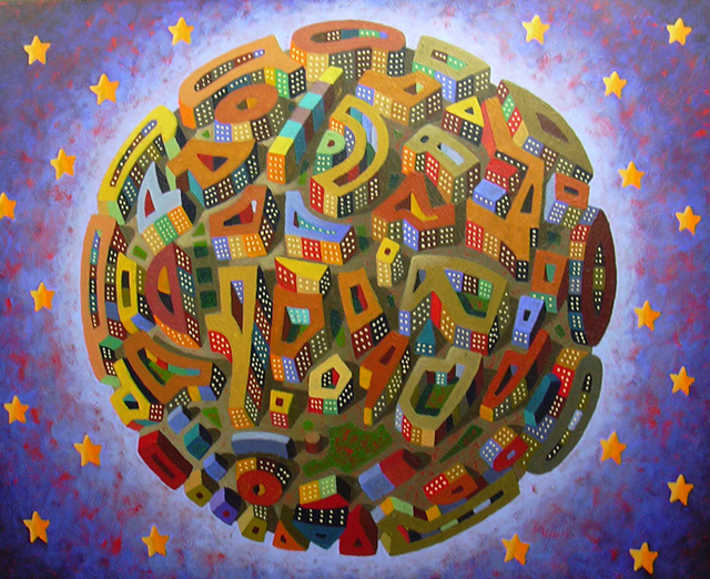 , 'Mandala Cosmico,' 2016, GALERIA JORDI BARNADAS