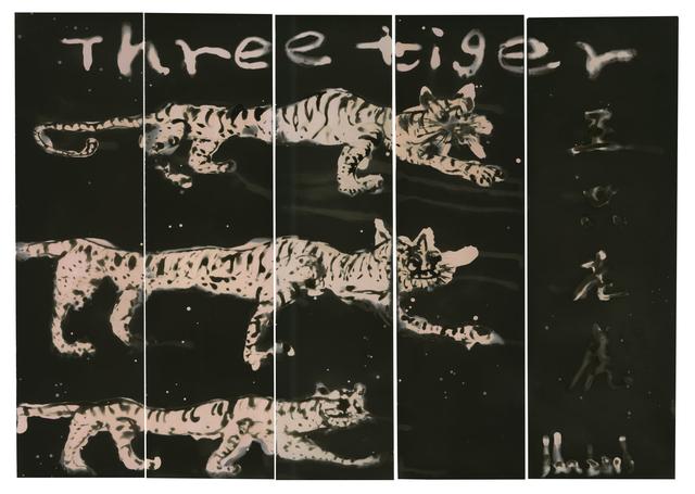 , 'Three Tigers,' 2018, M97 Gallery