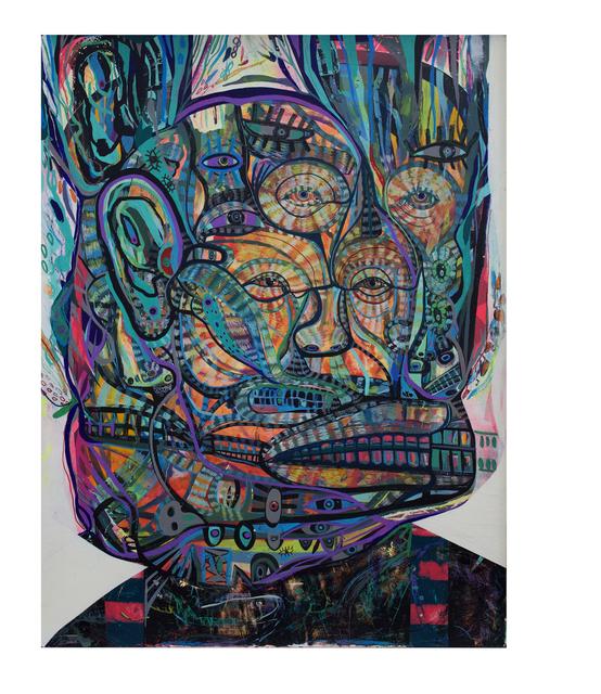 , 'The Hooligan,' 2017, Galerie Matthew Namour