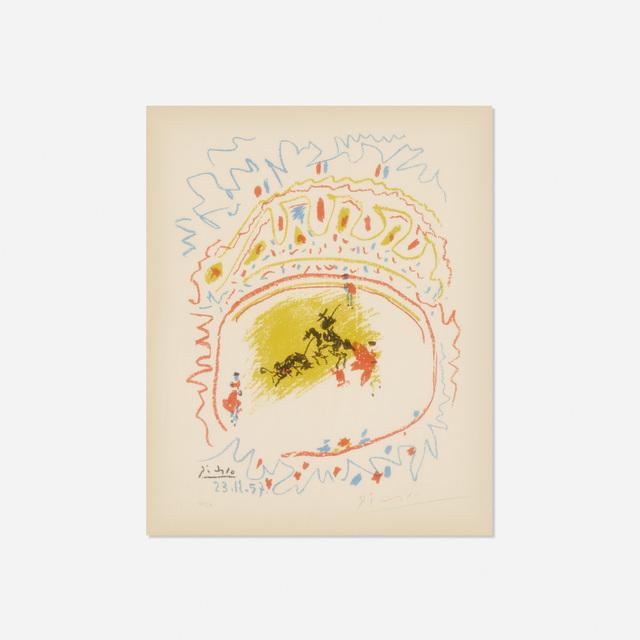 Pablo Picasso, 'La Petite Corrida', 1957, Print, Lithograph on paper, Rago/Wright