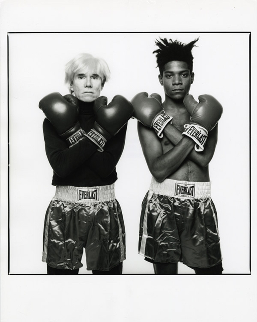 , 'Andy Warhol & Jean-Michel Basquiat #143 New York City, July 10, 1985,' 1985, McCaig-Welles