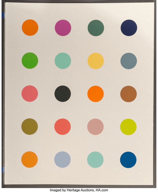 Damien Hirst, '3-Methylthymidine', 2014, Print, Screenprint in colours with diamond dust, on Somerset paper, the full sheet, Heritage Auctions