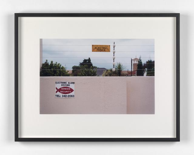 Kendell Geers, 'Suburbia 10', 1999, Stephen Friedman Gallery