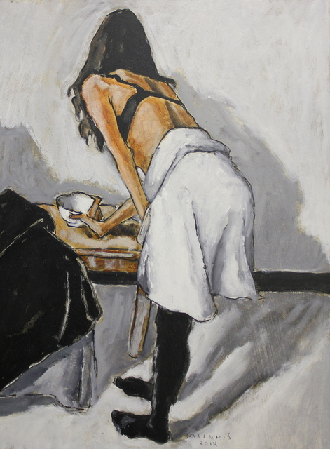 , 'Dancer Taking a Cup,' 2014, The Front Gallery