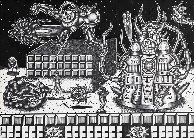 Motohiro Hayakawa, 'Space Battles Series 2 - #9', 2010-2016, Coleccion SOLO