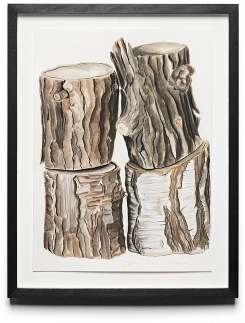 , 'CORDWOOD STUDY: BIRCH,' 2013, Traver Gallery