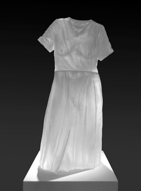 , 'PLEATED DRESS IMPRESSION,' 2003, Heller Gallery