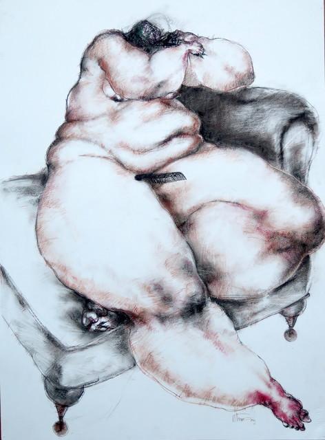 , 'Nude (comb),' 2017, Sapar Contemporary