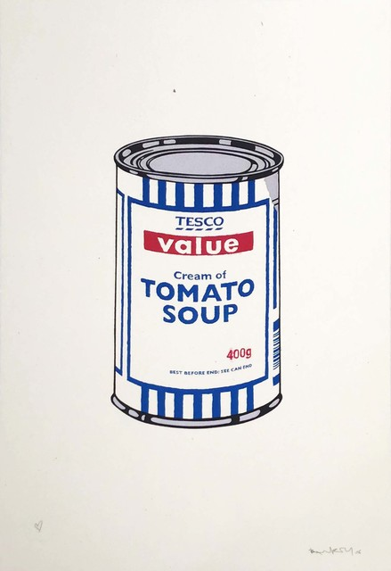 Banksy, 'Soup Can (Original Colourway) Charity Print - Signed', 2005, Hang-Up Gallery