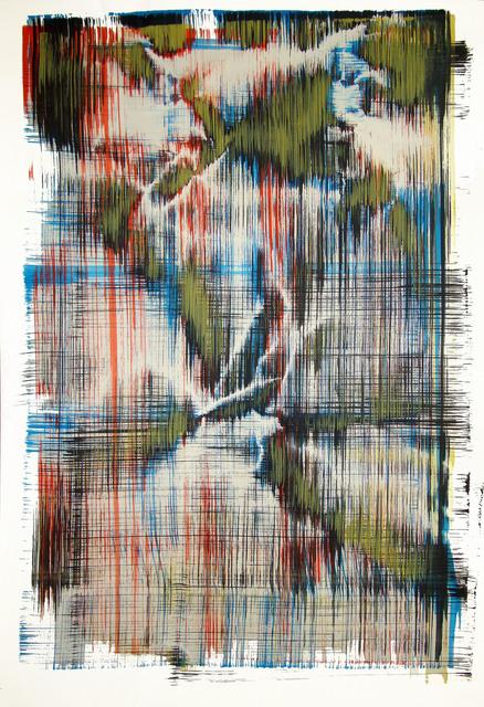 Sergio Barrera, 'Antigesture (rhizomes). P5', 2018, Painting, Acrylic on Canson paper, SET ESPAI D'ART