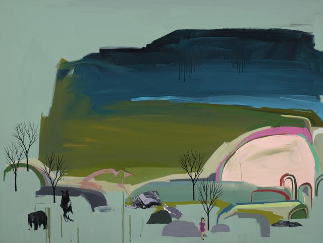 , 'Sea Level,' 2015, Jonathan LeVine Projects