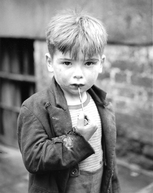 , 'Boy with Drill, Liverpool, England. August 24, 1951.,' 1951, Artist's Proof
