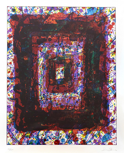 Sam Francis, 'Untitled', 1971, Print, Lithograph, Friends Seminary Benefit Auction
