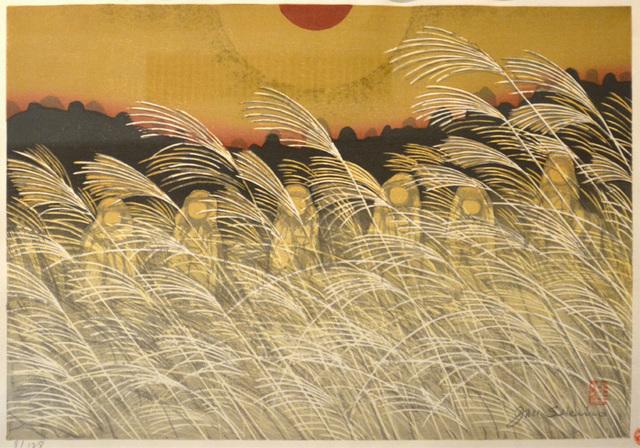 , 'The Six Jizo at Yamashina, Kyoto,' 1970, Ronin Gallery