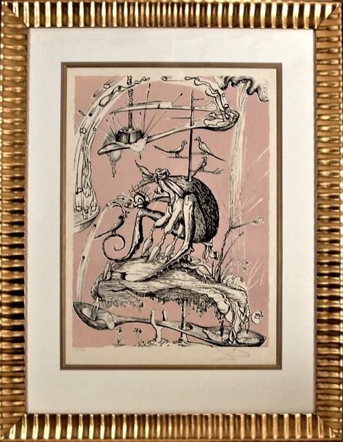 Salvador Dalí, 'Les Songes Drolatiques de Pantagruel', 1973, Joseph Grossman Fine Art Gallery