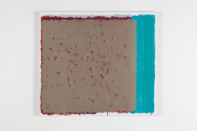 Sverre Wyller, 'Westend # 1', 2018, Painting, Egg Tempera, charcoal, Galleri Opdahl