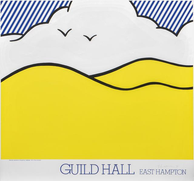 Roy Lichtenstein, 'Guild Hall East Hampton', 1980, Print, Color screenprint on paper, Skinner