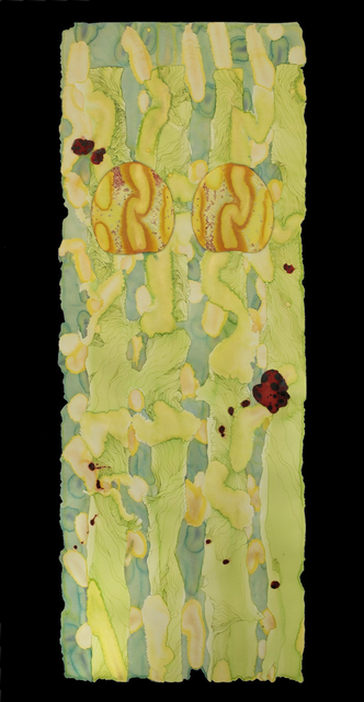 , 'Lime Scroll,' ca. 2011, Priscilla Fowler Fine Art