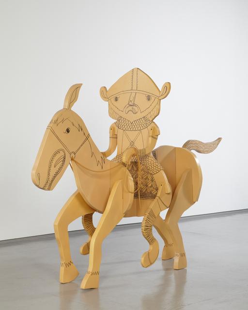 , 'Viking Riding a Horse,' 2013, Tomio Koyama Gallery
