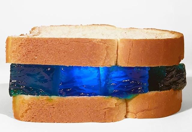 , 'Blue Jello on Wonder Bread ,' 2018, Machamux