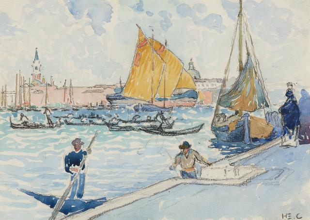 , 'Venise, la basilique San Giorgio Maggiore,' 1903, Stoppenbach & Delestre